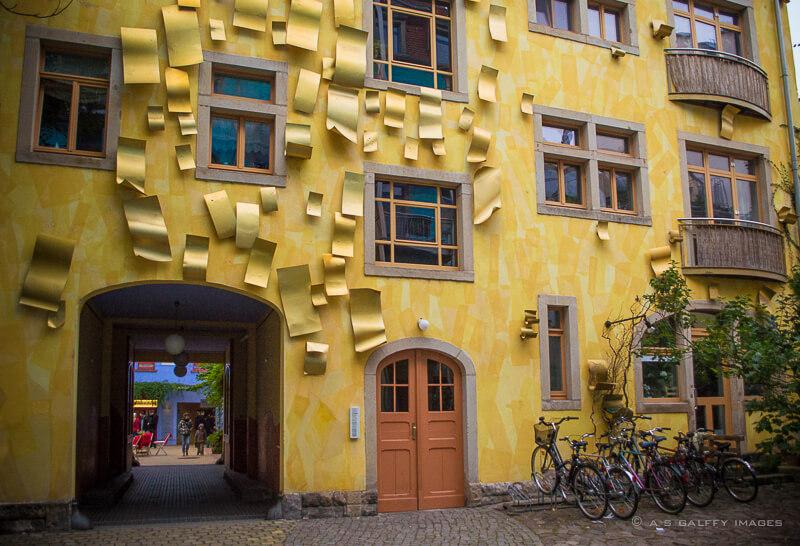 Cartier creativ Dresda curtea luminii