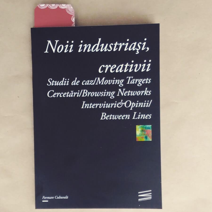 Cartea Noii Industriasi, creativii
