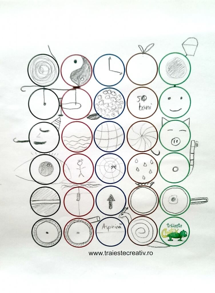 39.Exercitiul 30 cercuri completat