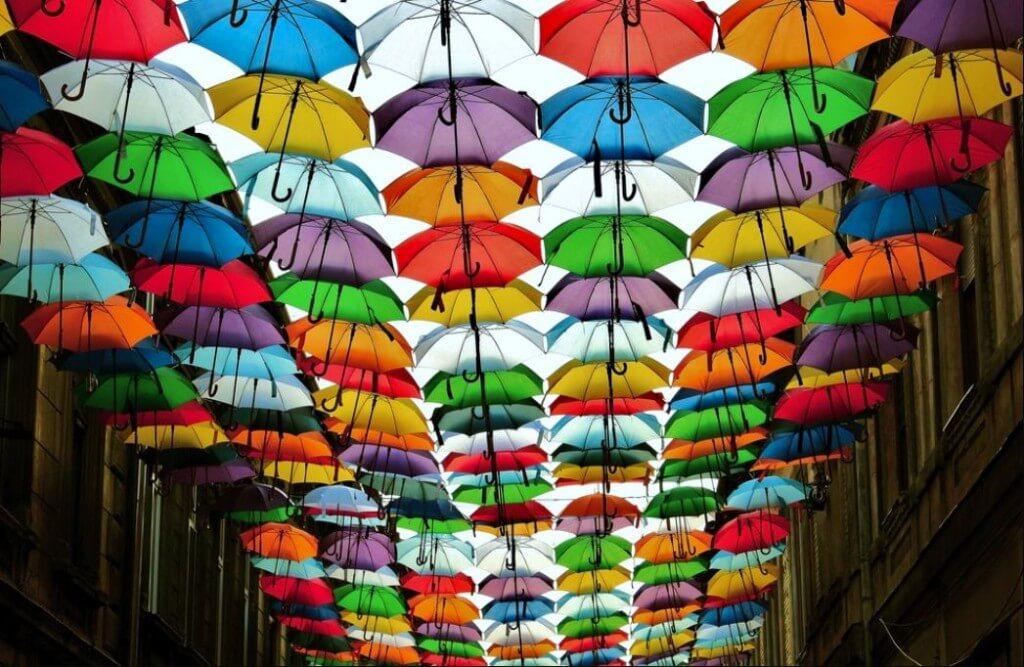umbrele creativitate